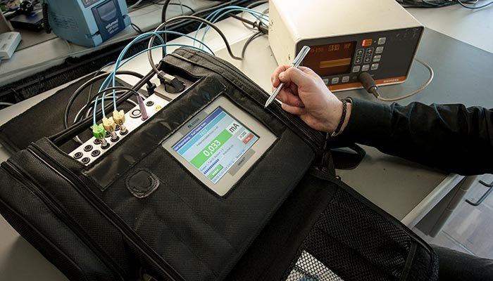 [Translate to french:] Test medizinisch-elektrischer Geräte