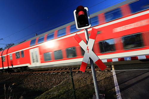 Spoorwegovergang/Veiligheidssystemen