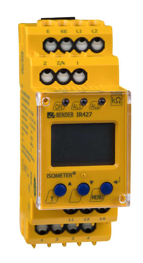 ISOMETER® IR427 avec MK7