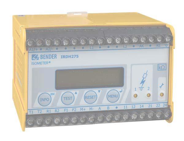 ISOMETER® IRDH275BM-7 met AGH675S-7...