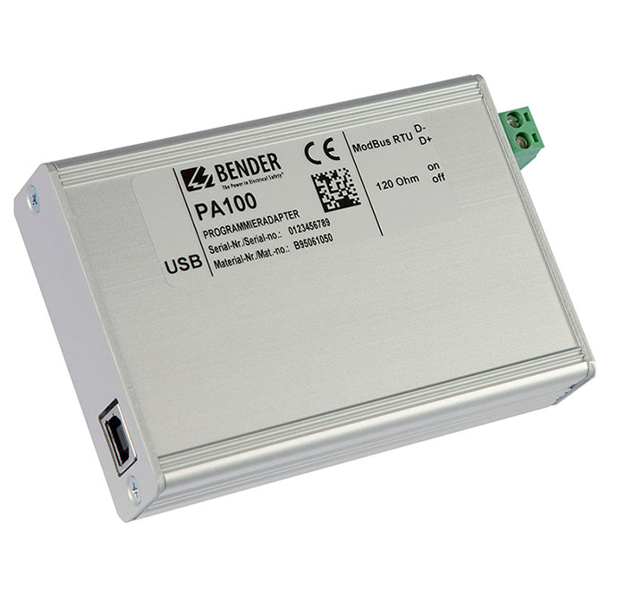 PA100 programming adapter