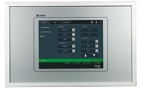 TCP - Panneaux de contrôle tactiles