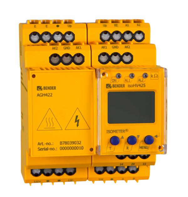 ISOMETER® isoHV425 avec AGH422