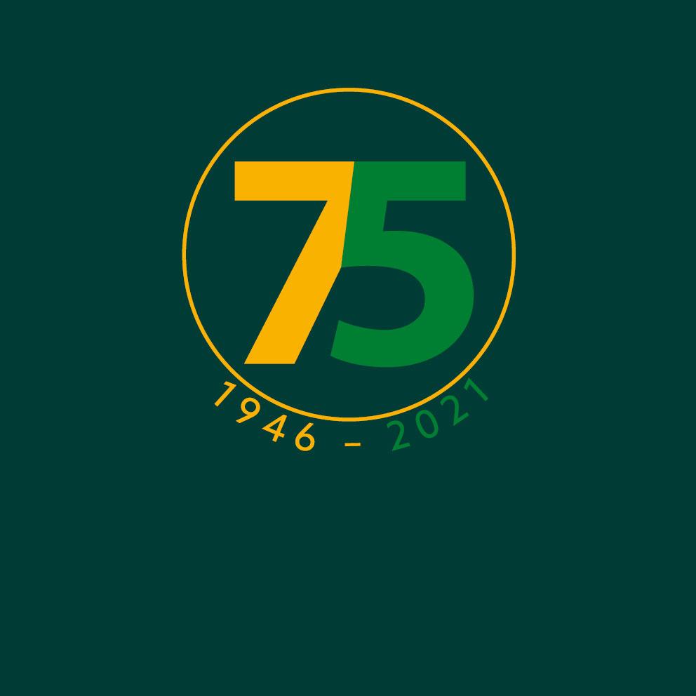 We vieren ons 75-jarig bestaan